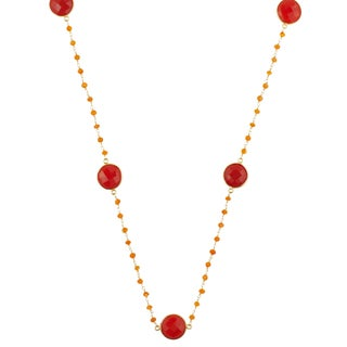 Alchemy Jewelry Carnelian Gemstone Necklace