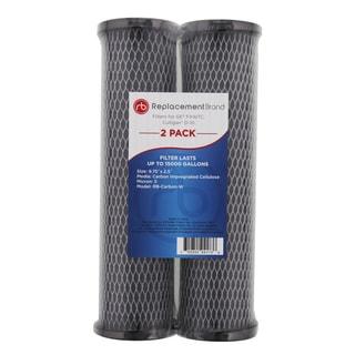 GE FXWTC Culligan D-10 10 Micron 10X2.5 Carbon Wrap Filter