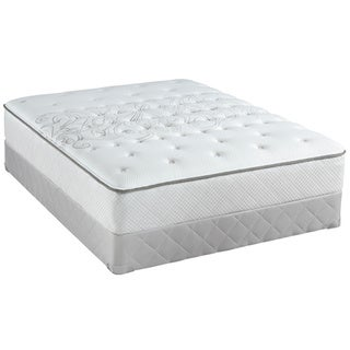 Sealy Posturepedic Classic Crystal City 10-inch Queen-size Medium Firm Mattress Set