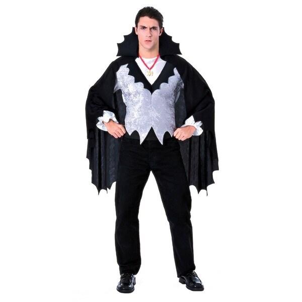 Mens Classic Vampire Black Costume