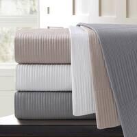 Echelon Home Sonoma Quilted Cotton Euro Sham (Set of 2)