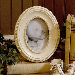 Beloved Bear Oval Picture Frame