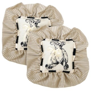 beloved bear wee pillow set of 2