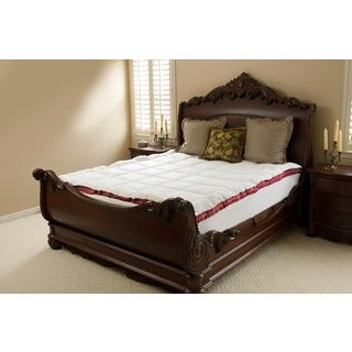 Downton Abbey Big and Soft Floral Quilted Fiber Bed