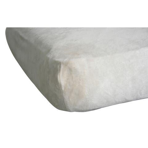 Beloved Bear Baby Crib Sheet - Cream