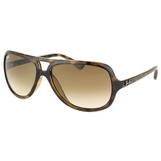 Ray Ban Unisex RB 4162 710/51 Havana Aviator Sunglasses (59 mm)