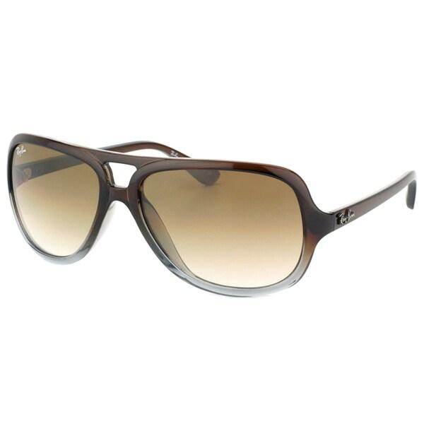 2f0542d4e7 Shop Ray Ban Unisex RB 4162 824 51 Aviator Sunglasses (59 mm) - Free ...