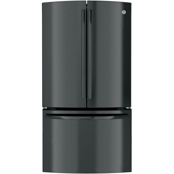 Ge Profile Series Black 23 1 Cubic Foot Counter Depth