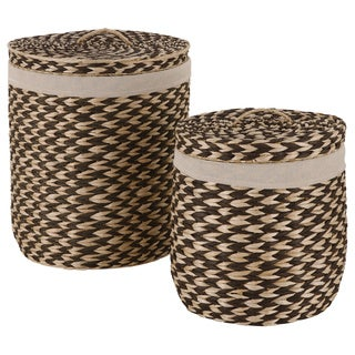 Brazilian Hamper Set with Lid (Set of 2)