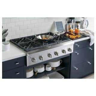 GE Cafe Series 36-inch Gas Rangetop with 6 burners|https://ak1.ostkcdn.com/images/products/9965612/P17117785.jpg?impolicy=medium