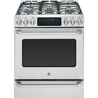 GE Cafe Series 30-inch Free-Standing Range with Baking Drawer