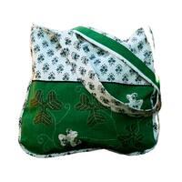 Handmade Shamrock Shoulder Bag (India)