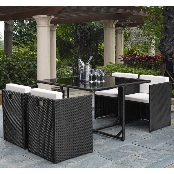 5 piece outdoor dining set. Marbella 5-piece Outdoor Dining Set 5 Piece D