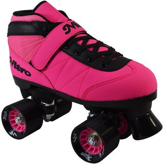 Epic Neon Pink Nitro Quad Speed Roller Skates