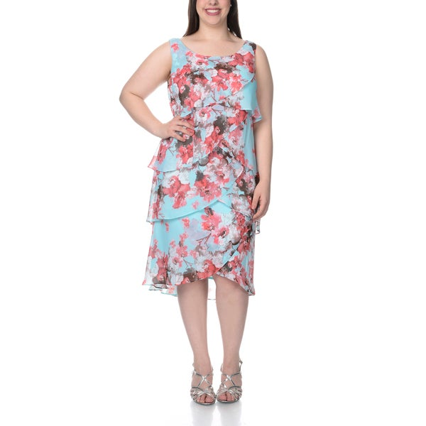 Plus size tiered dress pattern