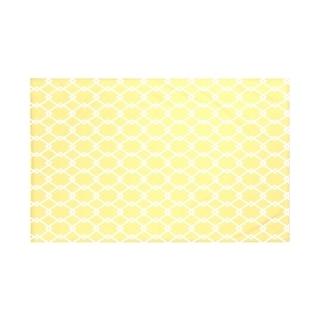 E by Design Navy Blue/ Green/ Coral/ Purple/ Yellow Geometric Print Throw Blanket