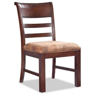 Intercon Bench Creek Knotty Oak Side Chair (set of 2)