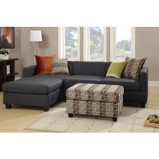 Antalya 2 pieces Sectional Sofa with Free Ottoman