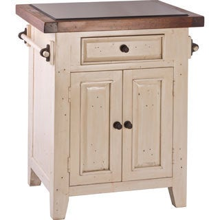 Pine Canopy Kisatchie Granite Top Small Kitchen Island