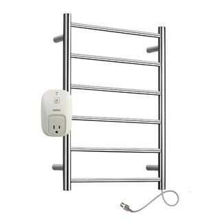 WarmlyYours Studio Plug In Towel Warmer with WeMo Switch