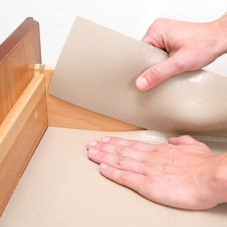 Con-Tact Brand Zip-N-Fit Solid Grip Non-Adhesive Non-Slip Shelf and Drawer Liner, 6 Pack