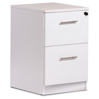 White 2-drawer File Cabinet
