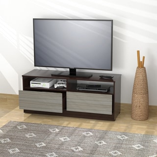 Inval Two-tone TV Stand