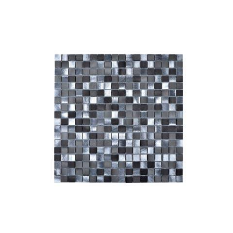 Aluminum Multi-Grey Wall Tile