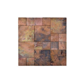 Copper Square Wall Tile