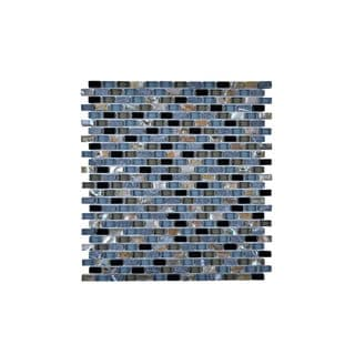 Multi-Glass Granite and Seashell 12-inch Wall Tile (Pack of 11)