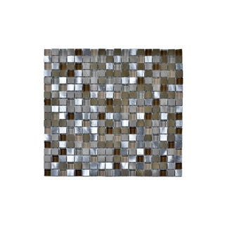Aluminum Tempered Glass Wall Tile