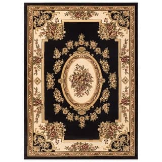 Well Woven Vanguard French Aubusson European Floral Medallion Thick Plush Area Rug (3'11 x 5'3)|https://ak1.ostkcdn.com/images/products/9966065/P17118161.jpg?impolicy=medium