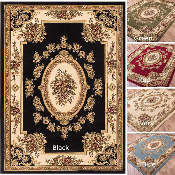 Well Woven Vanguard French Aubusson European Floral