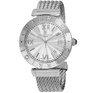 Charriol Men's ALS.51.101 'Alexandre' Silver Dial Stainless Steel Swiss Quartz Watch