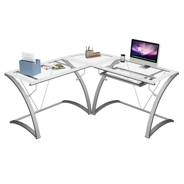 Kora L Shaped Computer Desk - Free Shipping Today - Overstock.com