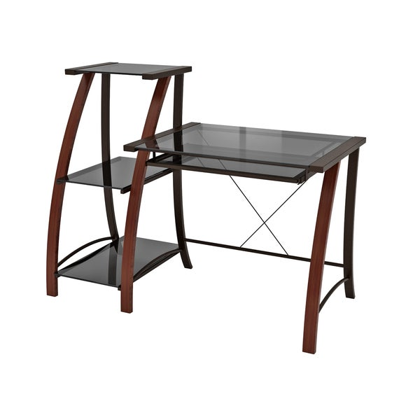 Triana Desk and Bookcase - Free Shipping Today - Overstock.com