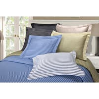 Superior 600 Thread Count Bahama Stripe Cotton Blend Duvet Cover Set