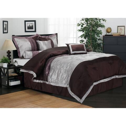 Miranda Haus Wrinkle Resistant Kashmir 7-piece Comforter Set