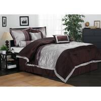 Superior Wrinkle Resistant Kashmir 7-piece Comforter Set