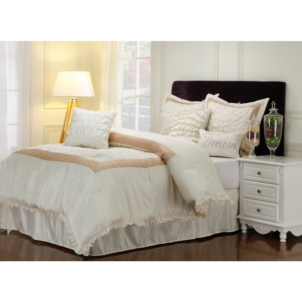 Superior Wrinkle Resistant Dream 7-piece Comforter Set