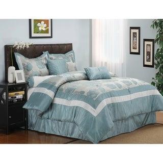 Superior Wrinkle Resistant Aloha 7-piece Comforter Set