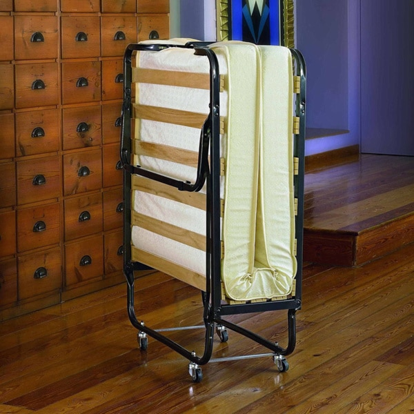 Linon trento memory foam folding guest bed free shipping today