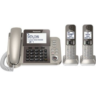 Panasonic KX-TGF352N DECT 6.0 Cordless Phone - Champagne Gold