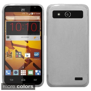 Insten Plain Frosted TPU Rubber Candy Skin Phone Case Cover For ZTE Speed