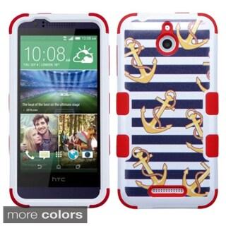 Insten Design Pattern Tuff Hard PC/ Silicone Hybrid Rubberized Matte Phone Case Cover For HTC Desire 510