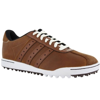 Adidas Men's Adicross Classic Tan Brown Golf Shoes