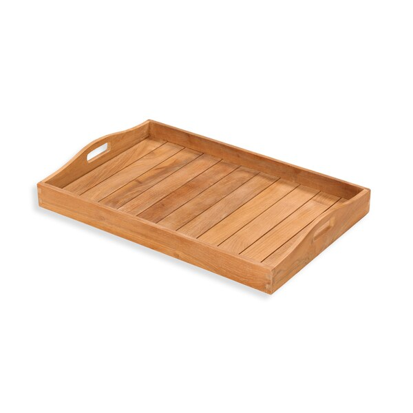Tortuga Outdoor Jakarta Teak Serving Tray Free Shipping  : Tortuga Outdoor Jakarta Teak Serving Tray 627541e4 ee88 4637 951e 5251b018d781600 from www.overstock.com size 600 x 600 jpeg 32kB