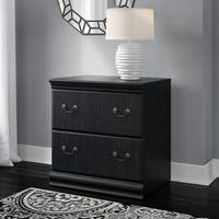 Bush Furniture Birmingham Lateral File Cabinet in Antique Black