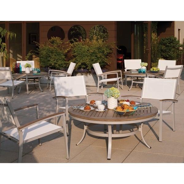 Oxford Garden Travira 48 Inch Round Chat Table