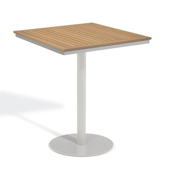 Oxford Garden Travira 36 Inch Square Bar Table Free Shipping Today